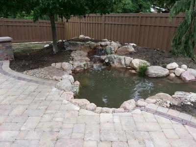 Install pondman for Fish pond installers